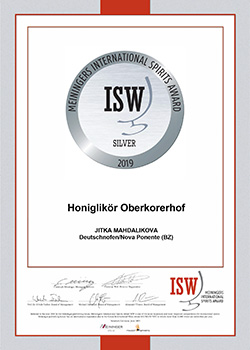 isw 2019 silber